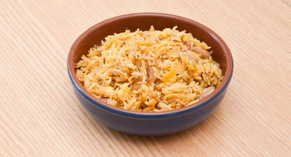 Morrocan rice with preserved lemon