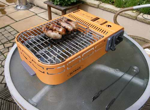 Outback portable barbecue