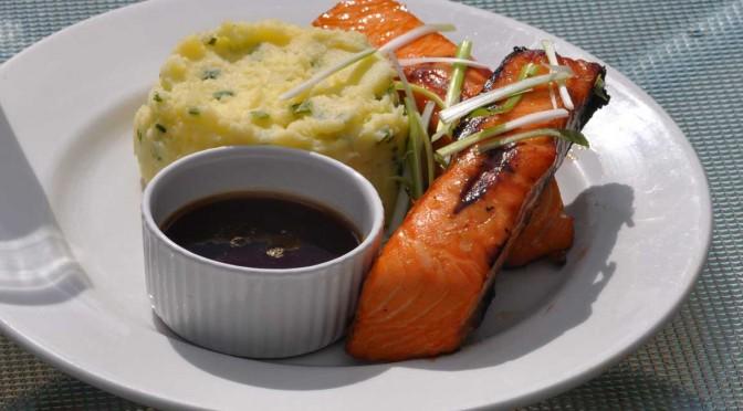 Salmon-Yakitori